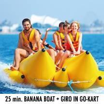 bananaboat collaborazione con go kart riccione rimini