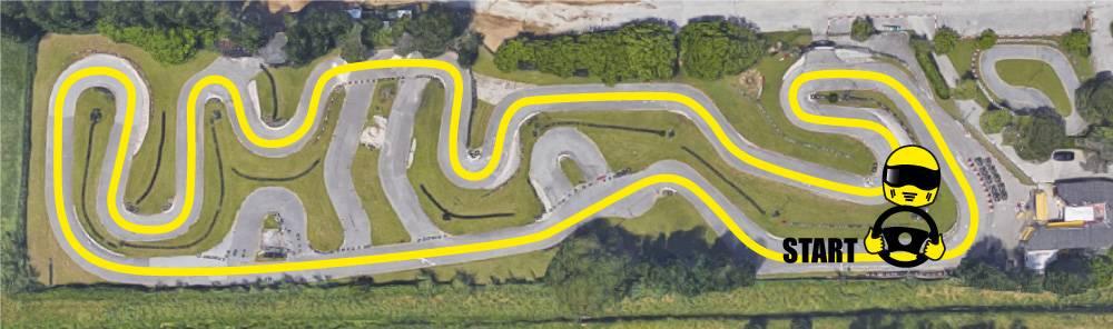 tracciato pista go kart riccione rimini